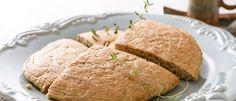 Pão multigrãos de frigideira - Lucilia Diniz