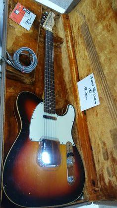 1961 Custom Fender Telecaster #Guitar @fender
