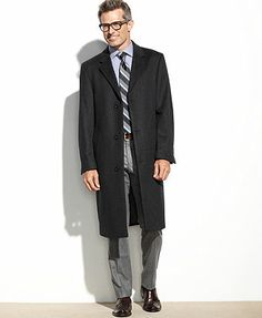 Izod Coat, Prospect Wool-Blend Overcoat