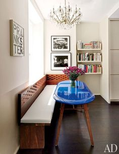 the chicest breakfast nook..