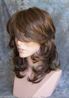 Sale Last Few Med Long Sarah Wig U Choose Colour   eBay