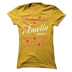 AMELIA THING AWESOME SHIRTYour shirt is screen printed on high quality material 100% cotton and printed in the U.S.A.  - Not sold in stores.  - Shipping worldwide.  - Guaranteed safe checkout: PayPal/VISA/MASTERCARD.  - Buy 2 or more and save on shipping!  - Support Call us @ 855-578-6376  How to order:  1. Select your type/color/size  2. Click Add To Cart  3. Select payment method  4. Enter shipping and billing information.AMELIA, AMELIA THING, AMELIA NAME, NAME, THING