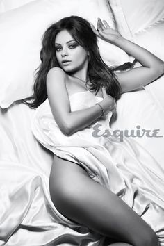 Mila Kunis Sexiest Woman Alive - Esquire Mila Kunis Video and Photos - Esquire 2012