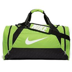 93f2e59ddb Nike Brasilia Medium Duffel Bag ( 36) ❤ liked on Polyvore featuring bags  and luggage