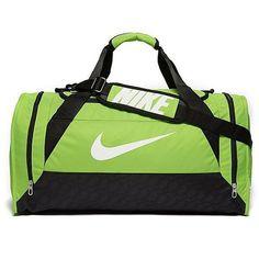 c8f97d3abda Nike Brasilia Medium Duffel Bag ($36) ❤ liked on Polyvore featuring bags  and luggage
