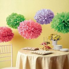Martha Stewart Colour Burst Pom Poms