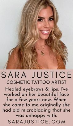 Through permanent makeup, we can create a more harmonious and balanced face. It is the perfect way to enhance lips that are thin, uneven, or have lost shape, color, and fullness with age. We select a permanent lip color from a range of beautiful pigments for a gorgeous, natural, soft lip tailored for you. #SaraJustice #PermanaentMakeup #PermananentLipstick Beauty Makeup Tips, Best Beauty Tips, Natural Beauty Tips, Makeup Tricks, Beauty Hacks, Permanent Lipstick, Semi Permanent Makeup, Cosmetic Lip Tattoo, Lipstick Tattoos