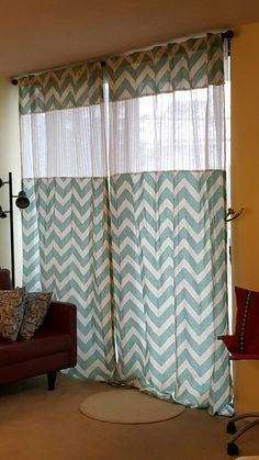 Make curtains longer