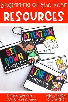 Kick off the year with these awesome resources for kindergarten, 1st, & 2nd grade. Schedule cards, back to school night resources, crafts, and so much more!
