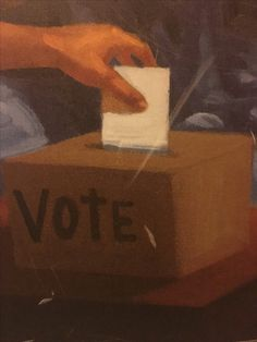 Vote! the only time our hands are free. Free to chose who would manage our future. A picture to remained us of all the sacrificed that was done for us to have this right. #freedomcnter #cincinnati