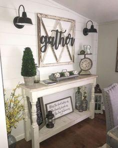 Awesome Rustic Farmhouse Home Decor Ideas 28