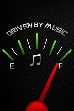 Driven By Music. Full tank. #musicquotes http://www.pinterest.com/TheHitman14/music-quotes-%2B/