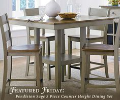 Attirant If Youu0027re Looking For A Furniture Piece As Relaxed And Easy Going As Your  Summer, Look No Further Than The Pendleton Sage Dining Set From American  Freight!