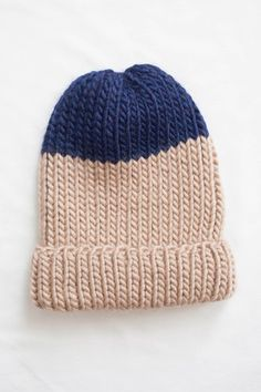 perfect beanie knit