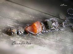 Raw epidote cornelian pyrite crystal tibetian quartz