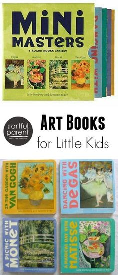 Art Books for Toddlers :: The Mini-Masters Board Books