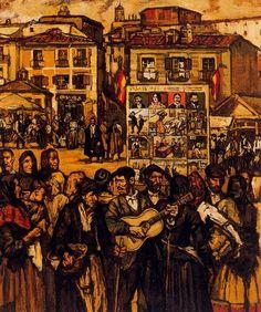 forma es vacío, vacío es forma: José Gutiérrez Solana - pintura