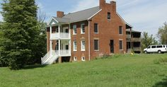 Hedgesville, West Virginia, Spring Mills, Falling Waters area Hammond House. Falling Waters, Shenandoah Valley, West Virginia, Waterfalls
