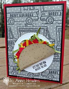 Tasty Truck stamp set