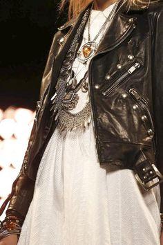 Saint Laurent Menswear Spring Summer 2015 ╰☆╮Boho chic bohemian boho style hippy hippie chic bohème vibe gypsy fashion indie folk the . Look Fashion, Fashion Details, High Fashion, Womens Fashion, Fashion Trends, Prep Fashion, Lolita Fashion, Looks Style, Style Me