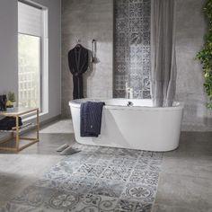 45 Fantastische Badezimmerboden Ideen und Designs 45 Fantastic Bathroom Flooring Ideas and Designs - Bathroom Renos, Bathroom Flooring, Bathroom Interior, Small Bathroom, Bathroom Remodeling, Remodeling Ideas, Cozy Bathroom, Master Bathroom, Bathroom Mirrors