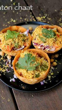 Puri Recipes, Pakora Recipes, Chaat Recipe, Spicy Recipes, Pani Puri Recipe, Snacks Recipes, Recipe Recipe, Copycat Recipes, Indian Veg Recipes