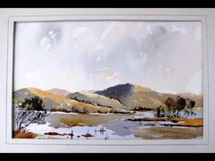 ▶ How to paint a loose landscape with Alan Owen - YouTube