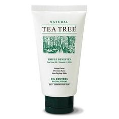 TEA Tree OIL Natural Essential Oils Moisturizers Anti-acne Facial Foam 2.4 Oz Made in Thailand >>> Details can be found by clicking on the image. (This is an Amazon affiliate link)