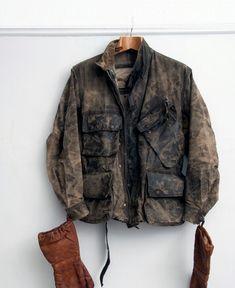 vintage Barbour motorcycle Jacket