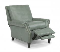 Daltry Leather or Fabric Power High-Leg Recliner by #Flexsteel via Flexsteel.com