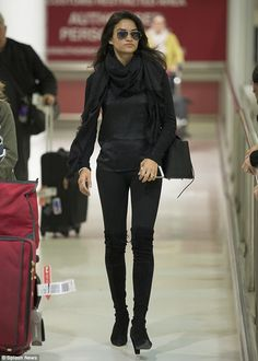 It's a bling thing: The model jetted into Sydney last week for Fashion Week Australia, wea...
