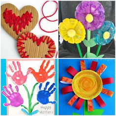 Atividades com Pintura para Dia das Mães - Pop Lembrancinhas Happy Mothers, Pop, Creative Activities, Diy Creative Ideas, Paper Plates, Quotes Love, Popular, Pop Music