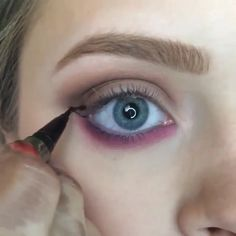 Video- Pop of color! Must try with the Tartelette. @cosmobyhaley #hudabeauty