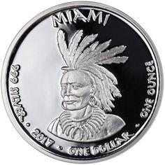 Miami Indian Indiana obverse