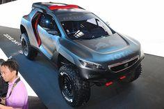 Peugeot 2008 DKR aiming for Dakar, makes detour to Beijing