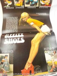Vintage Life Magazine Marilyn Monroe 1972 Fab Shoes Too - The Best Vintage Clothing - 3