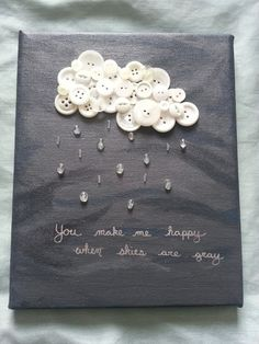 idea display brooches or mixed media create cloud cercles papier collage 人生在世 : 画像