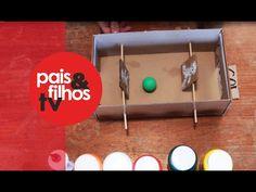 Pebolim de Papelão - Fazer com as Mãos - YouTube