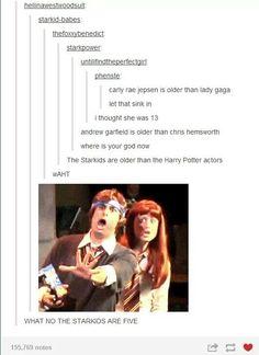 Wrong, Chris Hemsworth is 9 days older than Andrew Garfield but still Harry Potter Musical, Harry Potter Jokes, Harry Potter Universal, Harry Potter Fandom, John Barrowman, Be My Hero, Avpm, Team Starkid, Funny Memes