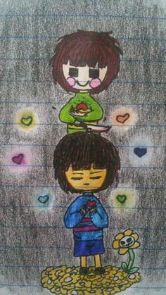 @NegaTeenWarhead - my first undertale doodle