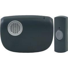 Ge Portable Door Chime With Door Bell Button