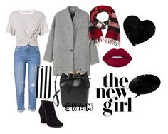 """""""#SKAM #NooraSætre"""" by koshenkovas on Polyvore featuring мода, WithChic, BCBGeneration, MANGO, T By Alexander Wang, Mansur Gavriel, Burberry и Lime Crime"""