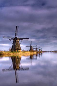thepaintedbench: Windmills