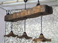 lampadario stile country : ... Lampadario In Legno su Pinterest Lampadari, Lampadario Moderno e