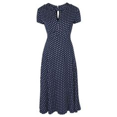 Juliet Navy Tea Dress | Vintage Inspired Fashion - Lindy Bop