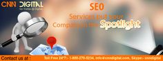 SEO services put your company in spotlight.