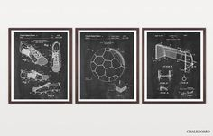Inventions of Soccer - Soccer Patent - World Cup - World Cup Poster - Soccer Poster - Soccer Wall Art - Soccer Patent Print - Soccer Art Hockey Posters, Basketball Posters, Soccer Poster, Art Football, Basketball Art, Soccer Room, Canvas Prints, Framed Prints, Art Prints