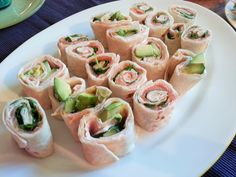 Taccosushi | Sportküche Sushi, Snacks, Fresh Rolls, Ethnic Recipes, Food, Fish Dishes, Eat Lunch, Meat, Easy Meals