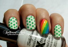 Super Fun Nail Designs For St. Patrick's Day