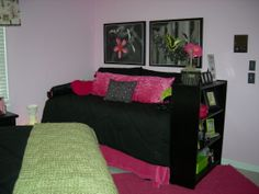 Paris Bedroom Decor for Teens | teen paris room, My teen daughter wanted a paris room with pink green ...